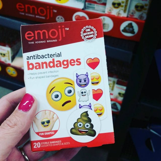 These came home with me today emojilove emojiseverywhere emojibandaids