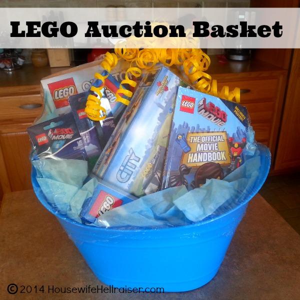 LEGO Auction Gift Basket