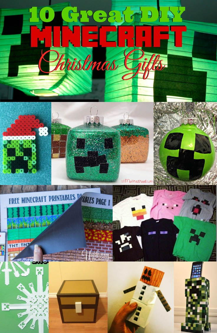 10 Great Diy Minecraft Christmas Gifts