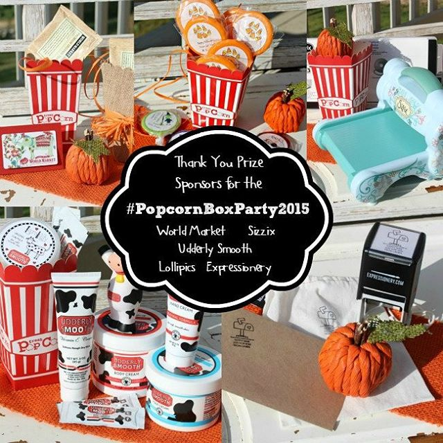 These are the awesome prizes in the popcornboxparty2015 giveaway! Thankshellip