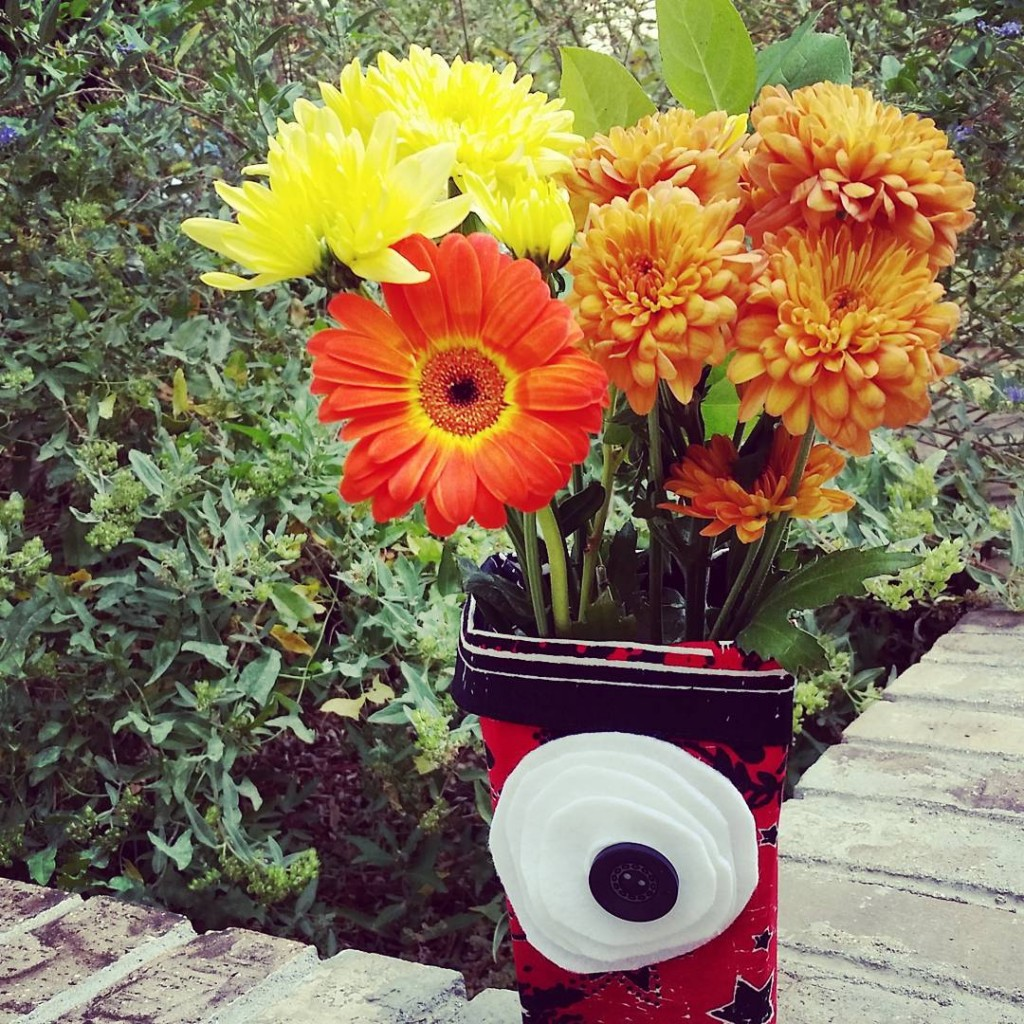 Guess what my cute fall flower arrangement started out as?hellip