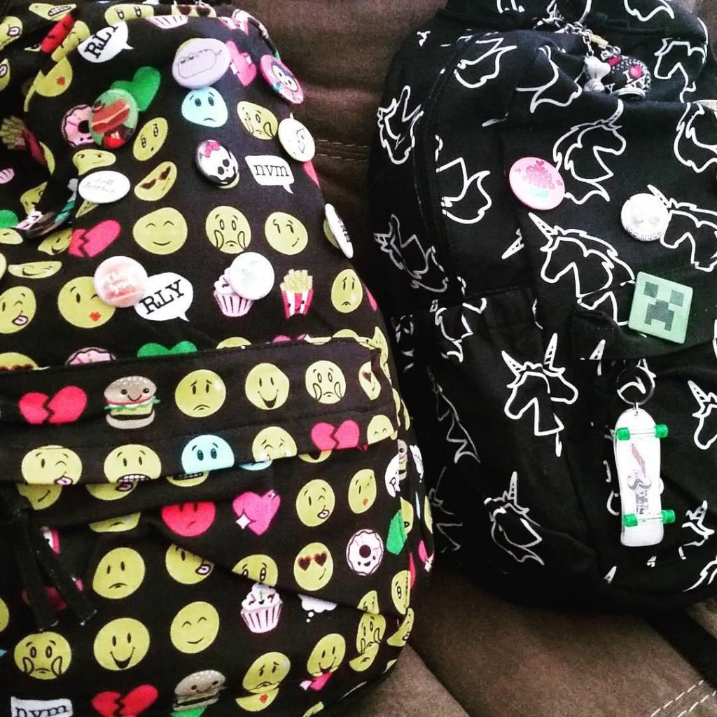 5 backpacks at Claires? Whaaaaaat? southlandsbff shopsouthlands claires shopsouthlands clairesstoreshellip