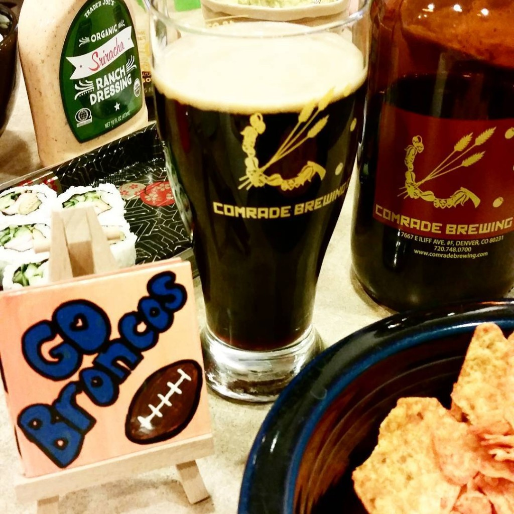 Love the Broncos and love my Koffee Kream beer fromhellip