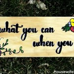 Do What You Can, When You Can