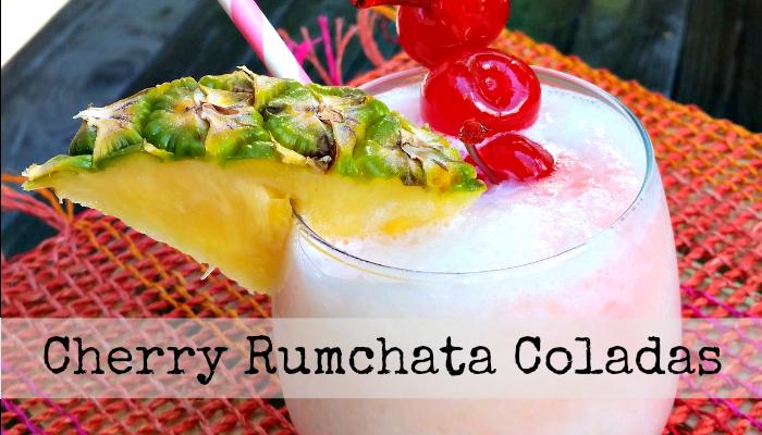 Cherry Rumchata Coladas