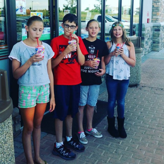 Happy 7Eleven Day! Enjoying our free Slurpees along with abouthellip