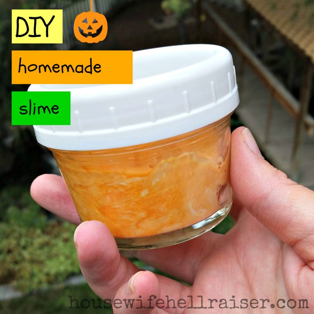 DIY Quick Homemade Slime