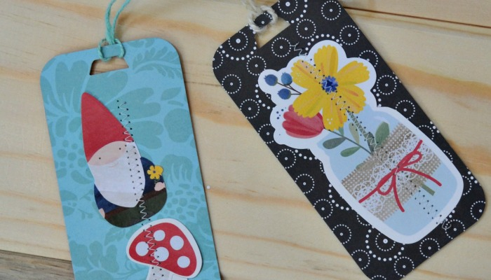Quick Bookmarks with Ellison Cutting Dies