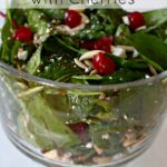 Spinach Salad with Cherries